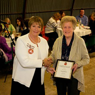 Volunteer Recognised at Unsung Heroes Event